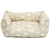 Mutts & Hounds - Powder Blue Boxy Bed
