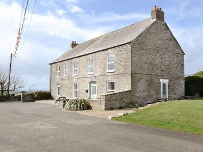 Treginegar Farmhouse, Cornwall, Saint Merryn