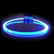 Red Dingo - Lumitube Light Up Dog Collar - Dark Blue
