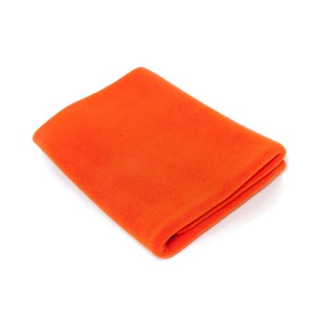 Personalised Pet Fleece Blanket – Orange