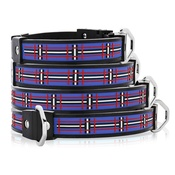 Cool Dog Club - Cool Dog K9 Striker MK1 Tartan Blue Dog Collar