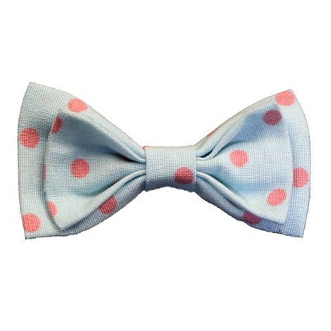 Cat Collar Bow Accessory - Polka Dot