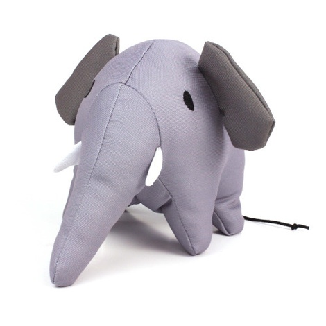 Estella the Elephant Squeaky Plush Dog Toy