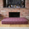 Memory Foam Tweed Dog Bed – Claret