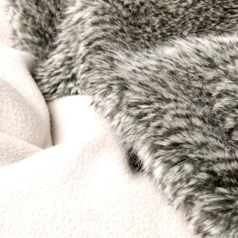 Faux-Fur & Fleece Dog Blanket - Squirrel 3
