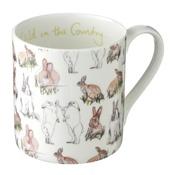 Stefanie Pisani - Rabbit Print Mug