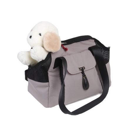 Shirley Dog Carrier - Taupe 4