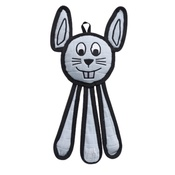 Tuff Enuff - Dangles Bunny Squeaky Dog Toy