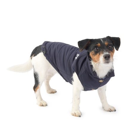 Fleece Lined Dog Gilet – Navy