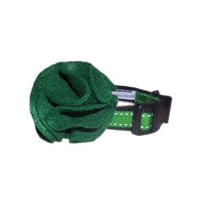 Limited Edition Irish Green Collar Flower