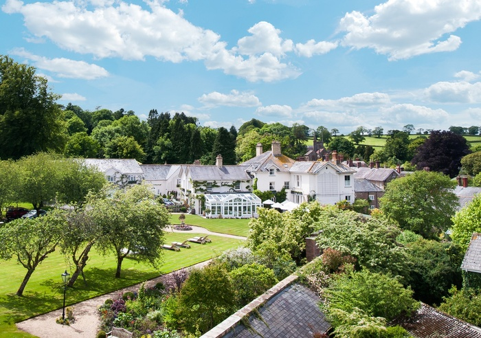 Summer Lodge Country House Hotel, Dorset 1
