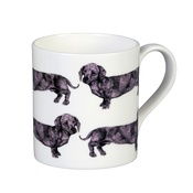 The Graduate Collection - Dachshund Mug - Pink