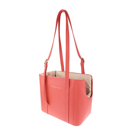 Leather Dog Bag – Geranio