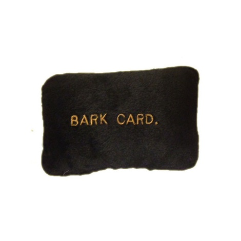 Americanine Express Bark Card Dog Toy 2
