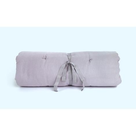 Plain Dog Roll Bed - Grey 2