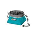 Ruffwear Quencher Cinch Top Bowl - Pacific Blue