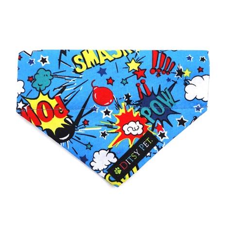 Superhero Slide on Bandana