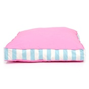 Lords & Labradors - Orthopaedic Dog Bed - Pink & Blue