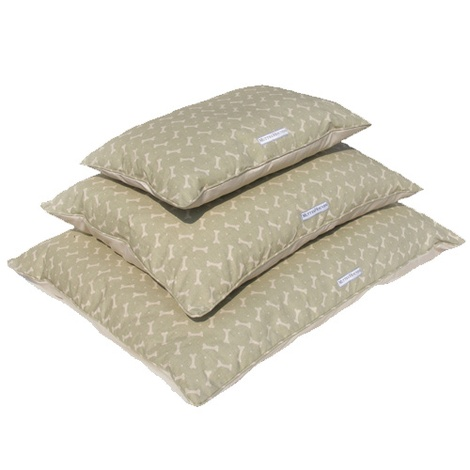 Sage Bone Linen Pillow Bed