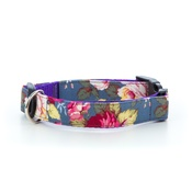 Pet Pooch Boutique - Sapphire Rose Dog Collar
