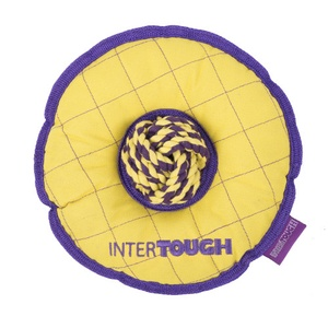 Intertough Donut Frisbee Dog Toy