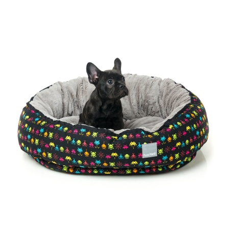 Space Raiders Reversible Dog Bed 3