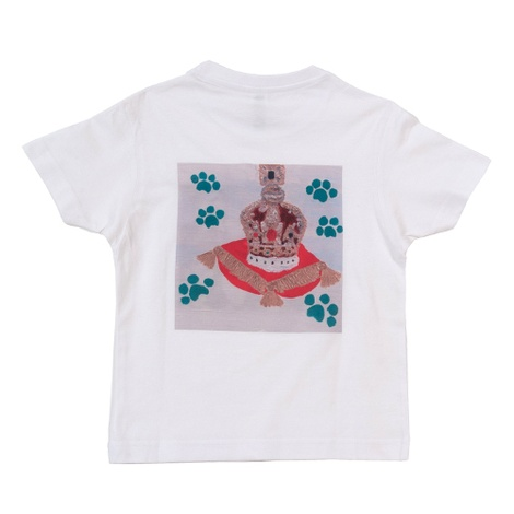Corgi & Crown Jewels T-Shirt White 2