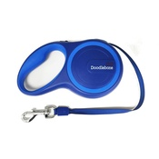 Doodlebone - Rambler Retractable Dog Lead – Blue