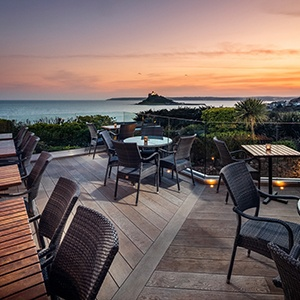 <strong>Mount Haven Hotel, Cornwall: </strong> Enjoy the Cornish coast with your furry friend