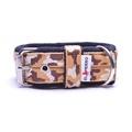 4cm width Fleece Comfort Dog Collar - Safari Camo