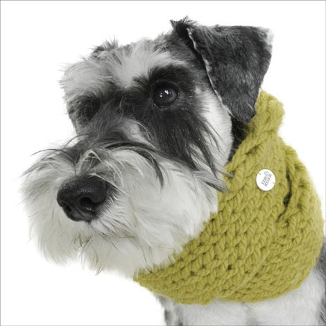 Chunky Funky Snood Scarf - Meadow Green