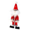 Silent Night Stuffing Free Santa Dog Toy