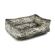 Pet Pooch Boutique - Lynx Print Dog Bed
