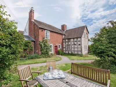 Cronkhill Farmhouse, Shropshire, Cross Houses