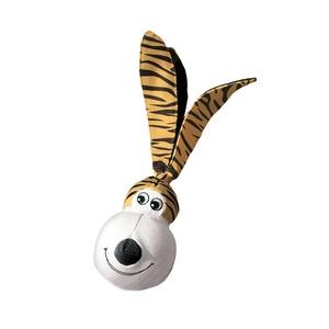KONG Wubba Floppy Ears Dog Toy - Tiger