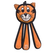Tuff Enuff - Dangles Tiger Squeaky Dog Toy