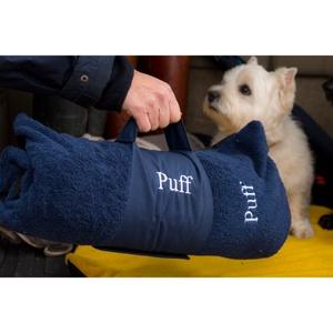 Pet Travel Bed - Navy