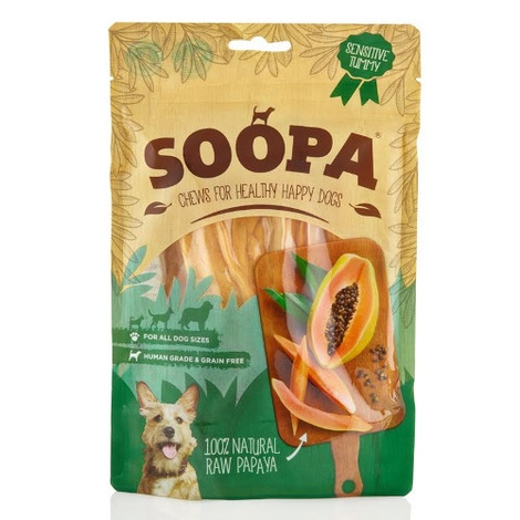 Papaya Dog Chews (3 x 100g)