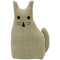 Morgan Wright Country Lace Cat Doorstopper Lime