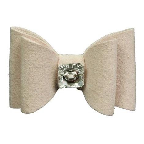 Dog Collar Bow Accessory - Marshmallow 3