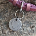 Heart Dog ID Tag 2