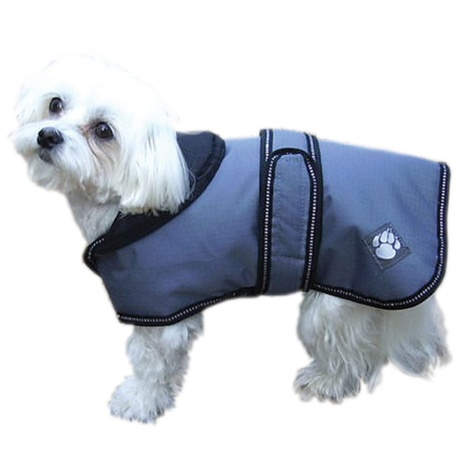 Dusty Blue Weather Proof Coat