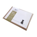 Set of 12 Sitting Dog Notecards 2