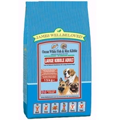 James Wellbeloved - JW Adult Fish & Rice (Large Kibble) 15kg
