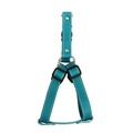 Blue Leather Dog Harness