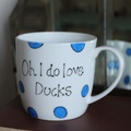 Oh I Do Love Ducks Mug  2