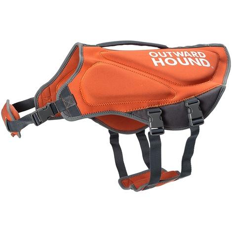 Neoprene Dog Life Jacket – Orange 2