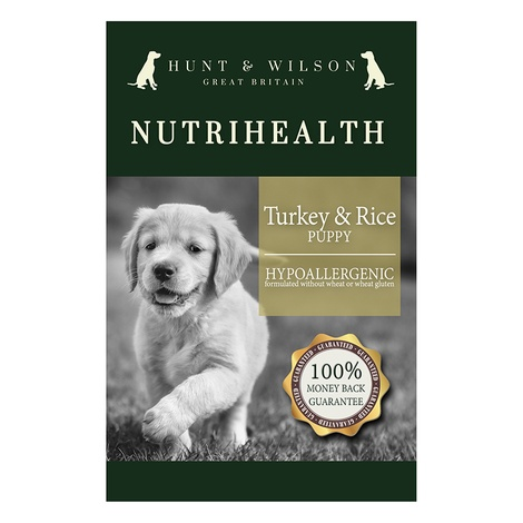 NutriHealth Puppy Turkey & Rice 12kg 2