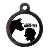 PS Pet Tags - Human Whisperer Pet ID Tag