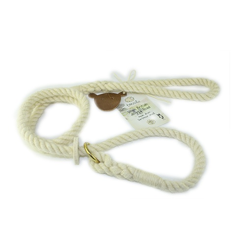 Rope Slip Lead - Au Naturel